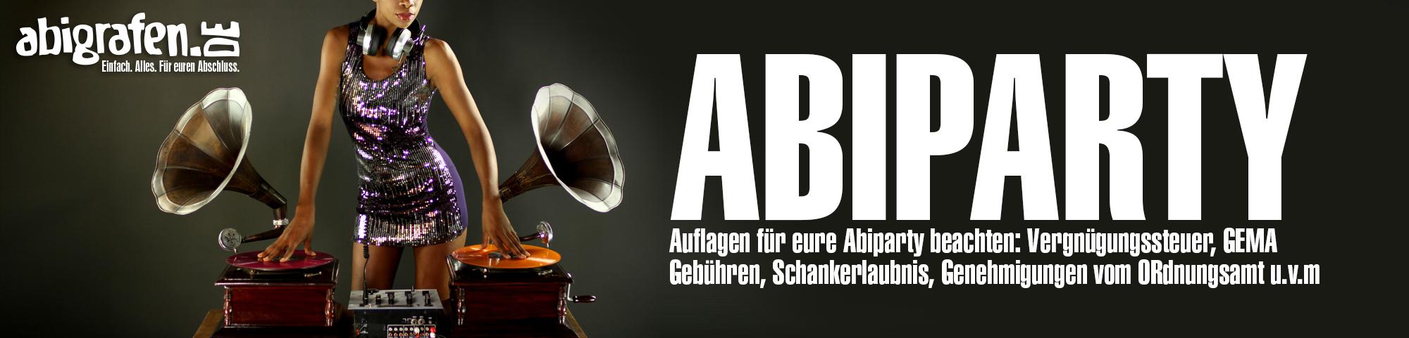 Informationen zu Abi Party Auflagen & Genhemigungen