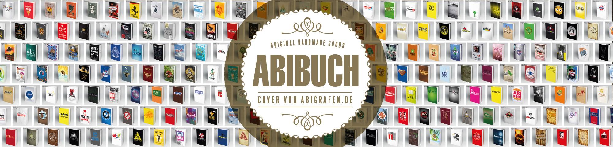 Umschlag Design (Cover) Abibücher von abigrafen.de