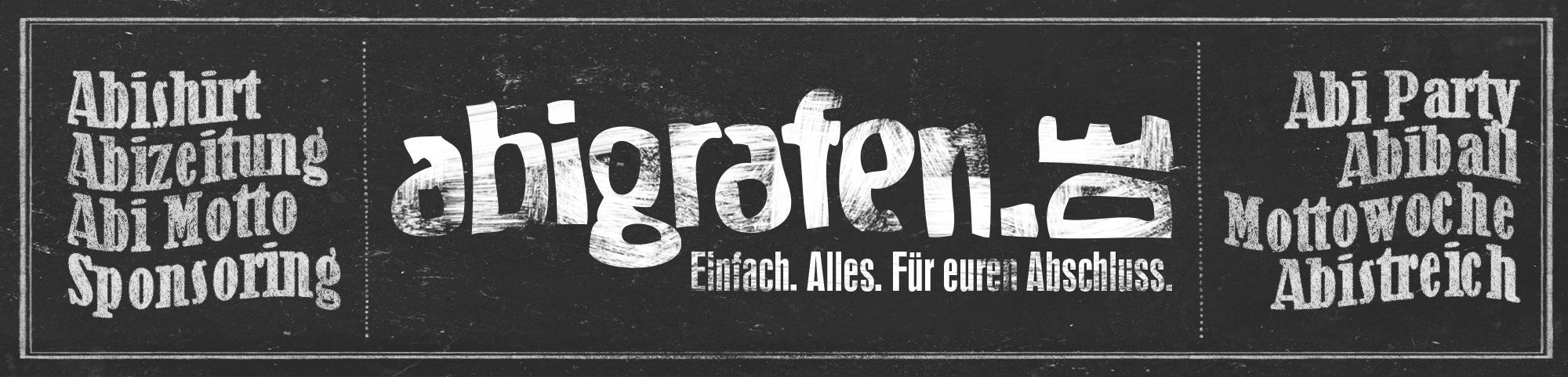 Überblick Leistungen abigrafen.de (Abi Druckerei/Designer)