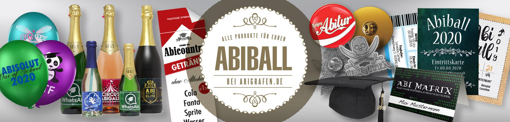 Abiball Druckkosten anfragen für individuelle Eintrittskarten, Programmhefte, Tischkarten, Stempel, Wertmarken, Anstecknadeln, Sektflaschen mit Abimotto
