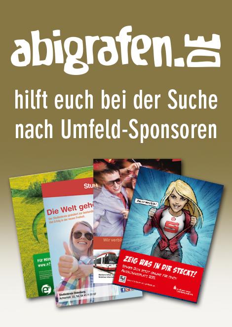 abigrafen-Deal Sponsoring Abizeitung
