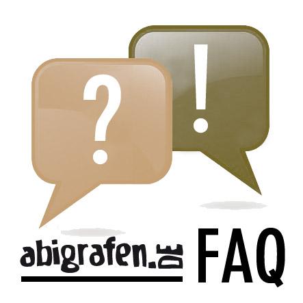 abigrafen FAQ-Bereich – Antworten auf häufig gestellte Fragen