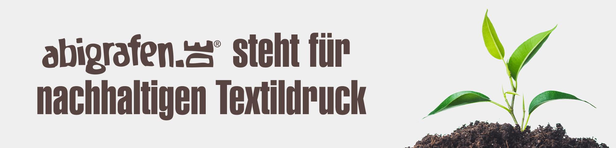 Nachhaltiger Textildruck * fairwear*vegan* Abishop abigrafen.de®