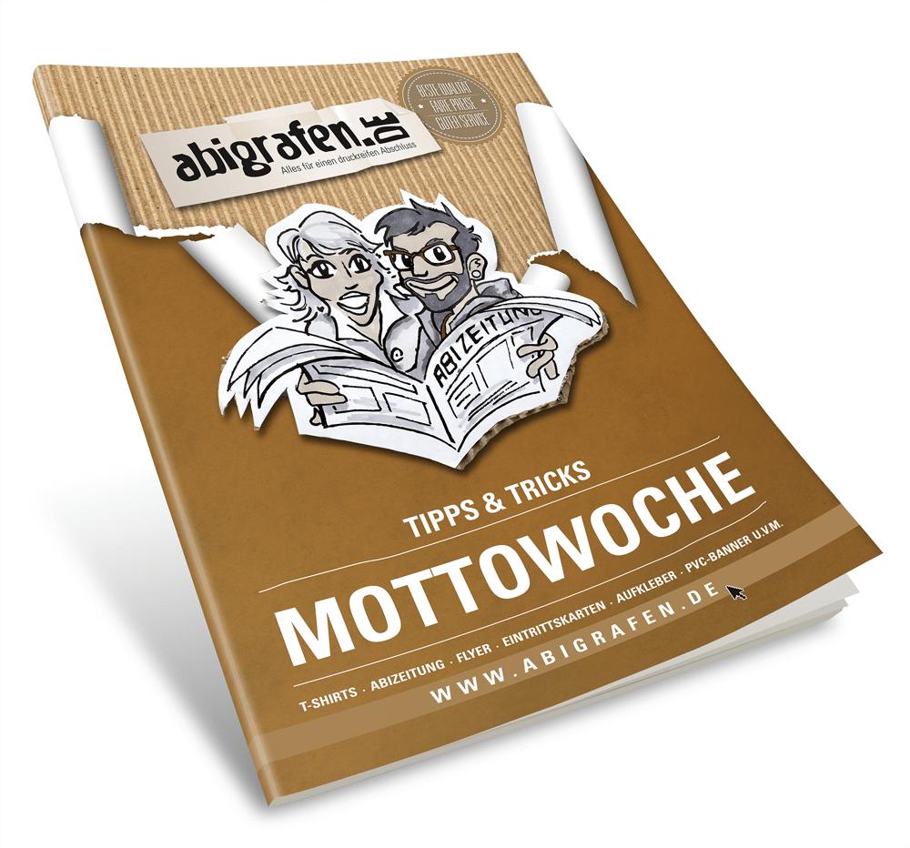 gratis Vorlage für Abi-Mottowochen und Mottotage