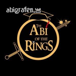 The Abi of the Rings Abi Motto / Abisprüche Entwurf von abigrafen.de®