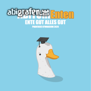 ABIturiEnten Abi Motto / Abisprüche Entwurf von abigrafen.de®
