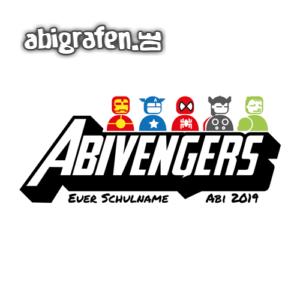Abivengers Abi Motto / Abisprüche Entwurf von abigrafen.de®