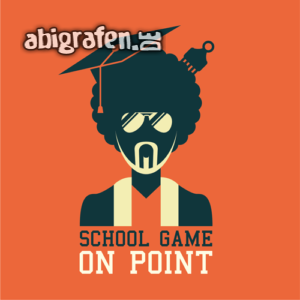 School Game On Point Abi Motto / Abisprüche Entwurf von abigrafen.de®