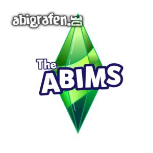 The Abims Abi Motto / Abisprüche Entwurf von abigrafen.de®
