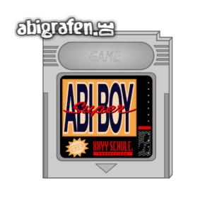 Super Abi Boy Abi Motto / Abisprüche Entwurf von abigrafen.de®