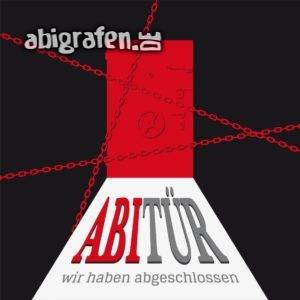 ABItür Abi Motto / Abisprüche Entwurf von abigrafen.de®