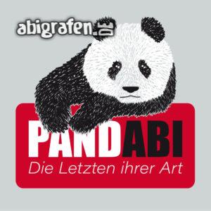 PandABI Abi Motto / Abisprüche Entwurf von abigrafen.de®