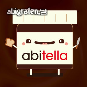 abitella Abi Motto / Abisprüche Entwurf von abigrafen.de®