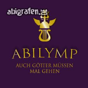 ABIlymp MMXIX Abi Motto / Abisprüche Entwurf von abigrafen.de®
