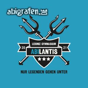 ABIlantis Abi Motto / Abisprüche Entwurf von abigrafen.de®