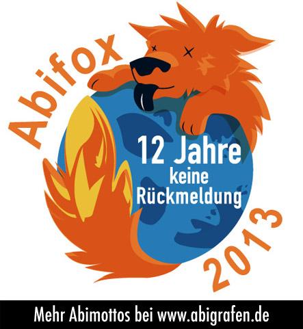 Abimotto: Abifox - 12 Jahre keine Rückmeldung
