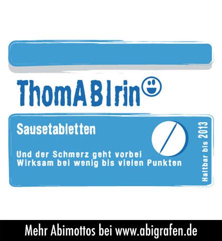 Über 700 kreative Abimottos gibt's bei abigrafen.de