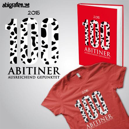 Abispruch / Abimotto Comic Zeichentrick: 100 Abitiner