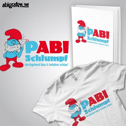 Abispruch / Abimotto Comic Zeichentrick: Pabi Schlumpf