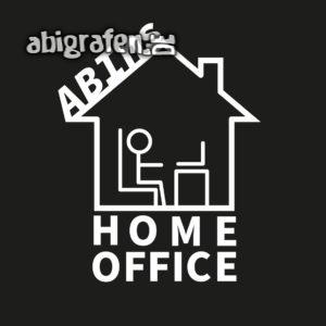 ABIns Home Office Abi Motto / Abisprüche Entwurf von abigrafen.de®