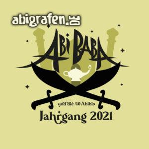 Abi Baba Abi Motto / Abisprüche Entwurf von abigrafen.de®