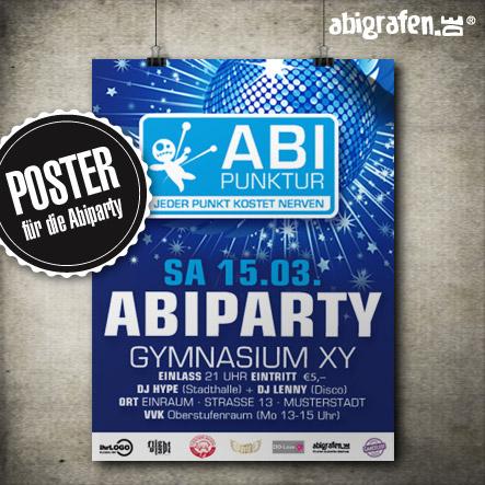 Abiparty Ausstattung: Poster (Druck & Layout)