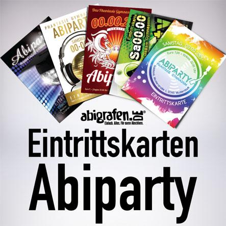 Abiparty Eintrittskarten bestellen