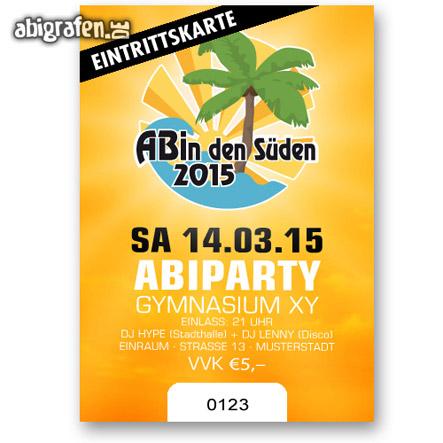 Abishop: Eintrittskarten Abiball oder Abiparty