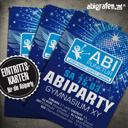 Abiparty Flyer Abiparty Flyer Print Druck und Layout bei abigrafen.de