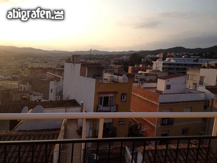 Das Wetter war gut auf unserer Abireise nach Spanien
