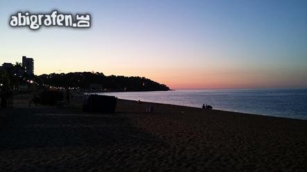 Auch am frühen Morgen schön - Abireise nach Spanien