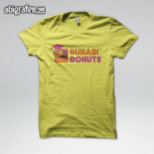 DUNABI DONUTS Abi Motto / Abishirt Entwurf von abigrafen.de®