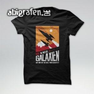 ABIn neue Galaxien Abi Motto / Abishirt Entwurf von abigrafen.de®