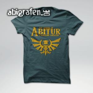 The Legend of Abitur Abi Motto / Abishirt Entwurf von abigrafen.de®