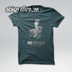 Abi für alle Abi Motto / Abishirt Entwurf von abigrafen.de®