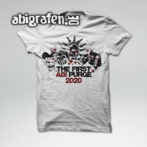 The First Abi Purge Abi Motto / Abishirt Entwurf von abigrafen.de®