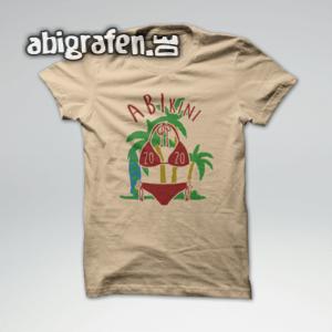 ABIkini Abi Motto / Abishirt Entwurf von abigrafen.de®