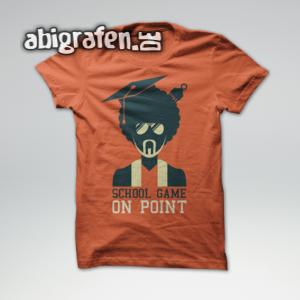 School Game On Point Abi Motto / Abishirt Entwurf von abigrafen.de®