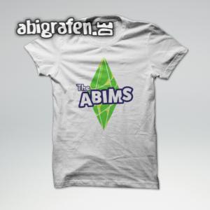 The Abims Abi Motto / Abishirt Entwurf von abigrafen.de®