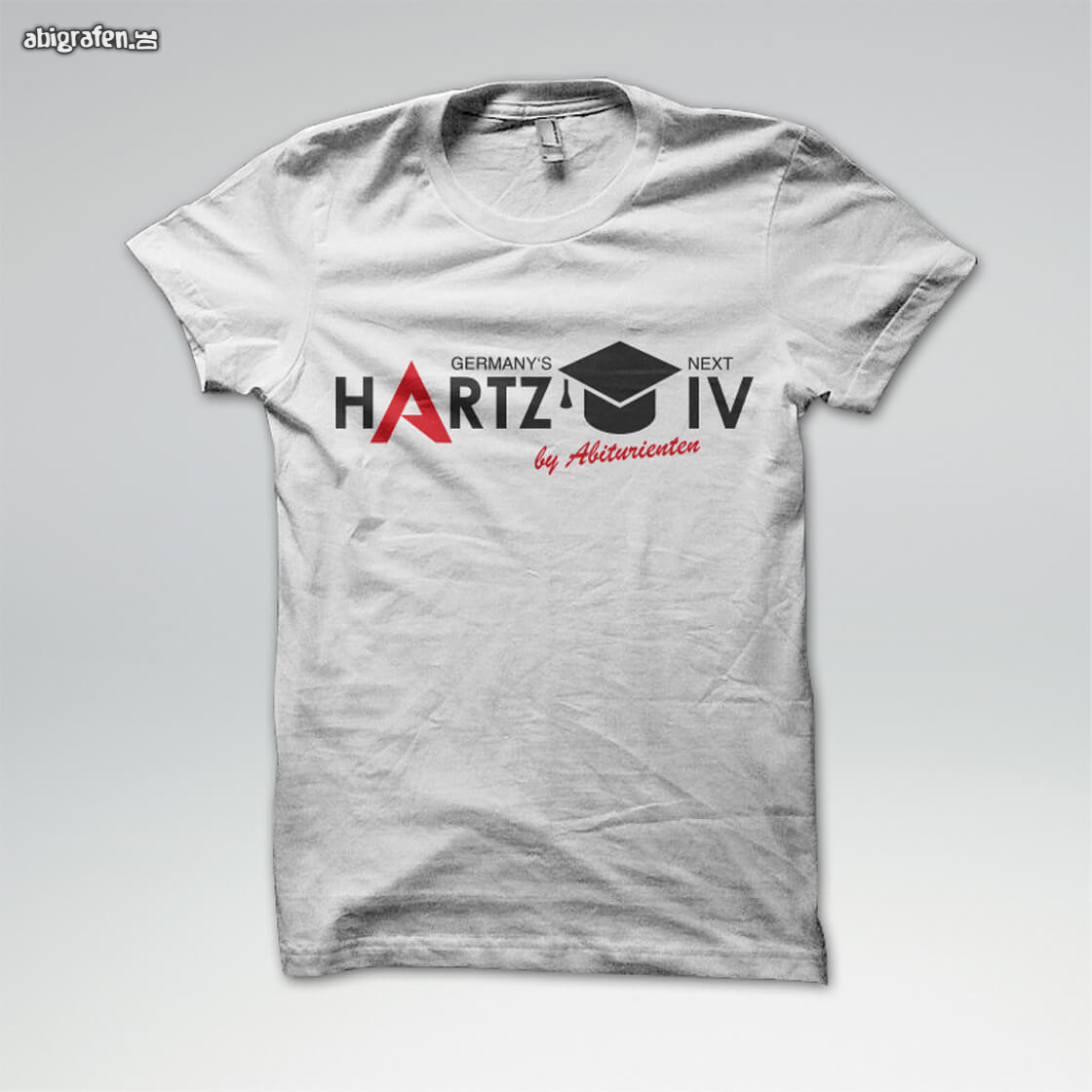 Abi Polo, Abi Hoodie, Abi Shirt, Abschlussshirt mit Abimotto Germany's Next Hartz IV – by Abiturienten