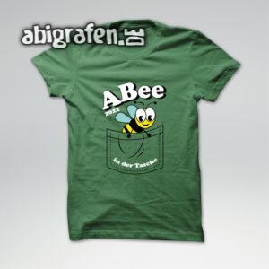 ABee Abi Motto / Abishirt Entwurf von abigrafen.de®