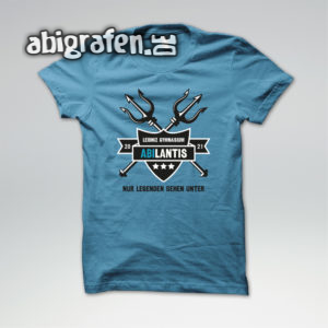 ABIlantis Abi Motto / Abishirt Entwurf von abigrafen.de®