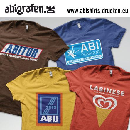 Abishirts drucken (T-Shirts oder Poloshirts)