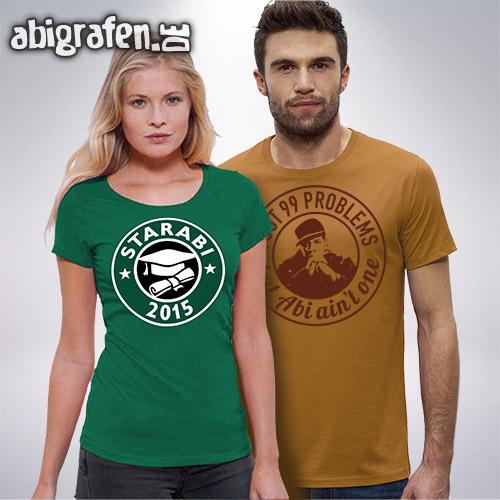 Abishop: Günstige Abishirts mit Abimotto im Siebdruck (Fairtrade)