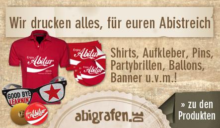 abigrafen.de - alle Drucksachen für euren Abistreich in der Übersicht