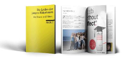 Abiturshop: Sponsoring Abizeitung/Abibuch