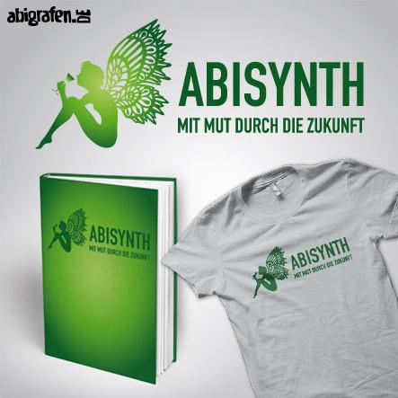Abisprüche Alkohol: ABIsynth – Produktbeispiel Abibuch & Abishirt