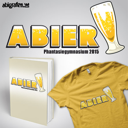 Abisprüche Alkohol: ABIer – Produktbeispiel Abibuch & Abishirt