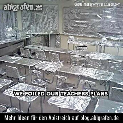 Ideen für den Abistreich, Abigag, Abischerz, Abisturm, Chaostag, letzter Schultag, senior prank