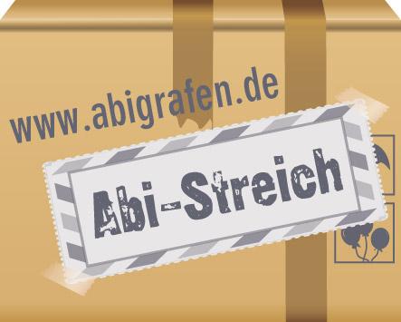 Abi Druck: Alles für den Abistreich, Abischerz, Abigag, Nulltagefeier, letzten Schultag, Chaostage